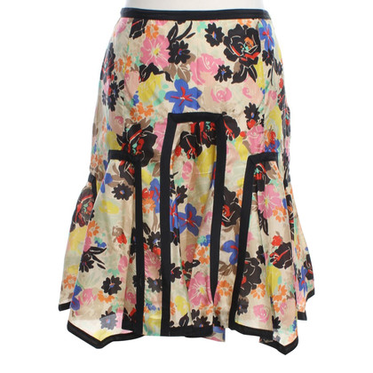 Paul Smith skirt with floral print