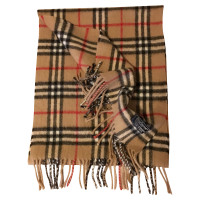 Burberry Wool scarf in Camel