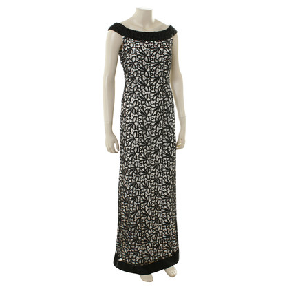 Guido Maria Kretschmer Maxi dress in black and white