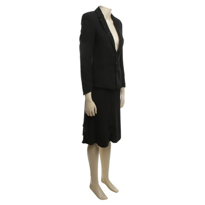 Escada Combinatie van Blazer, Rock & Hose