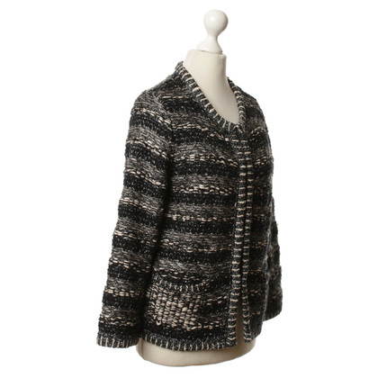 Maje Cardigan with fancy yarn