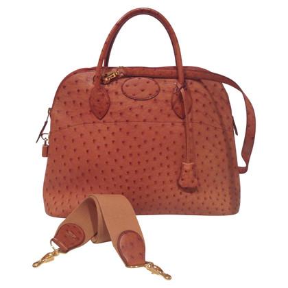 """Hermès Pelle di struzzo """"Auto Bag"""""""