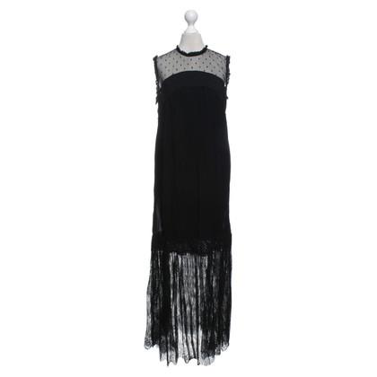 Twin-Set Simona Barbieri Lace dress in black
