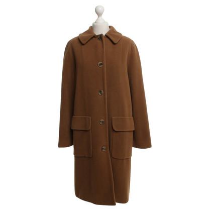 DKNY Cappotto in marrone chiaro