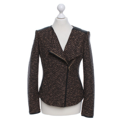 Hugo Boss giacca Boucle in Marrone / Nero