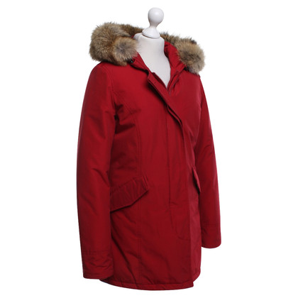 Woolrich Parka in Red