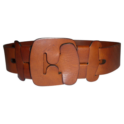 Chloé LEATHER BROWN BELT BY CHLOE