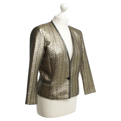 Isabel Marant Blazer with gold effect yarn