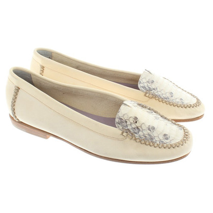 Henry Beguelin Slipper in Creme