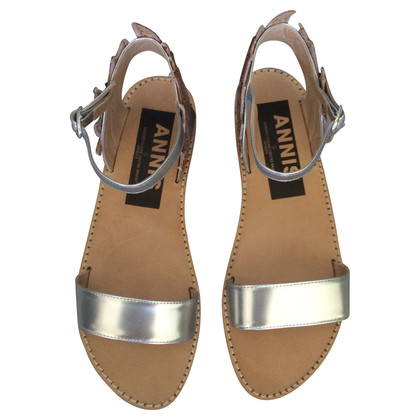 Golden Goose Leather sandals