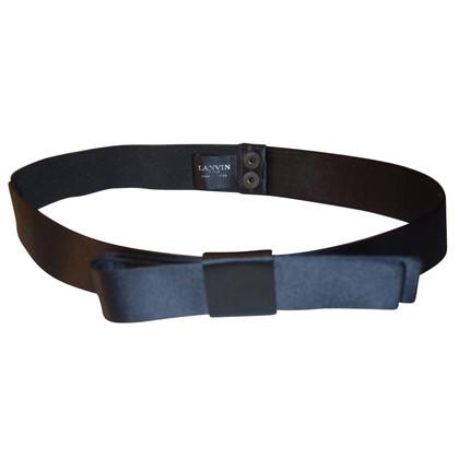 Lanvin cintura elastica in raso