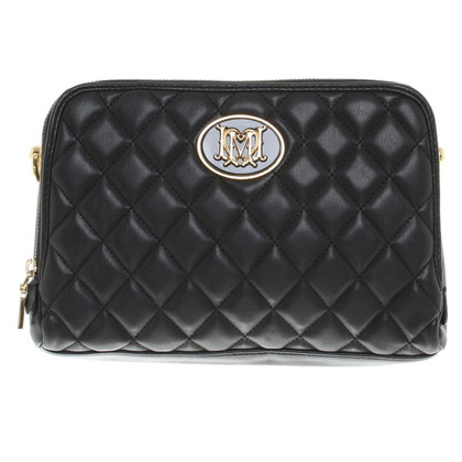 Moschino Quilted handbag in black