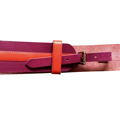 Kenzo Leather belt with concealed buckle