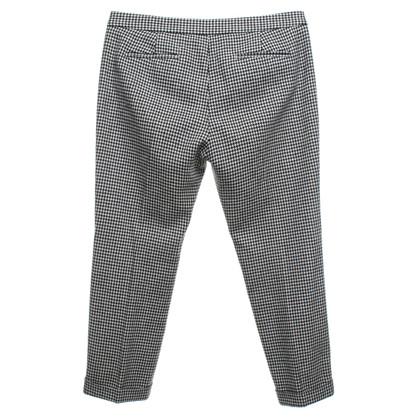 MSGM trousers with Pepita pattern