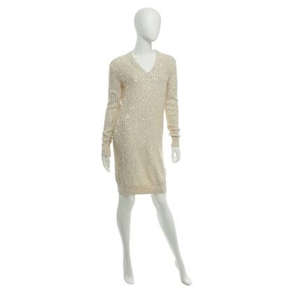 Stella McCartney abito in maglia con finiture in paillettes