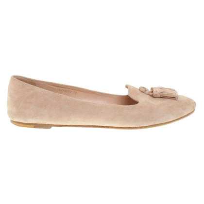 Hugo Boss Ballerinas in pink