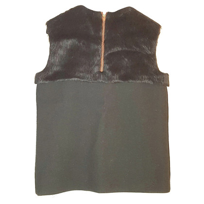 Céline Sleeveless wool top