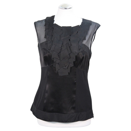 Karen Millen Silk top in black