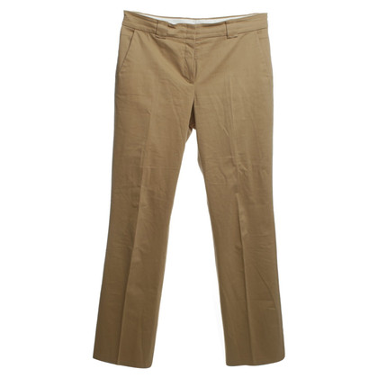 René Lezard Cotton pants with crease