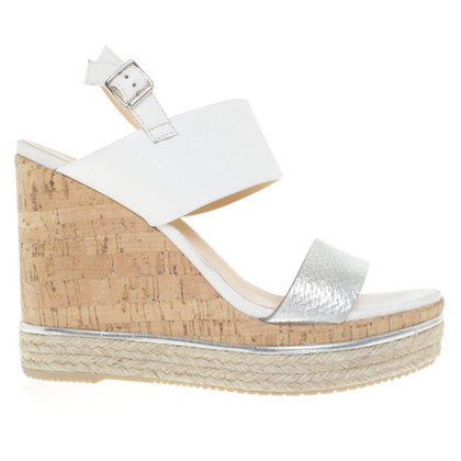 Hogan Wedges in Bicolor