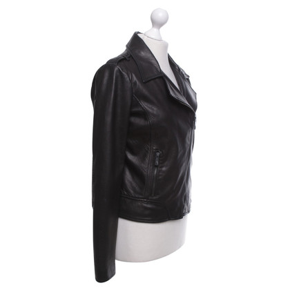 Faith Connexion Black lambskin jacket