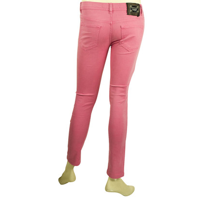 Philipp Plein Alimentation du diable Jeggins Rose Fuchsia