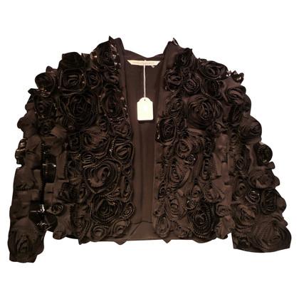 Diane von Furstenberg Short jacket made of silk