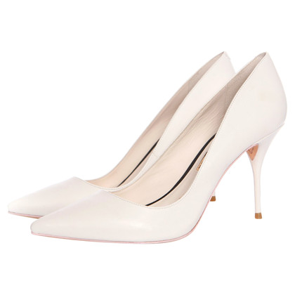 Sophia Webster  pumps in white
