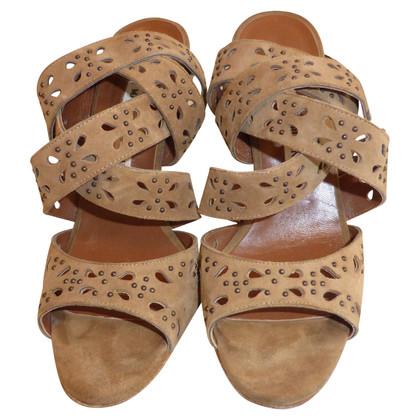 Manolo Blahnik Strappy Sandals