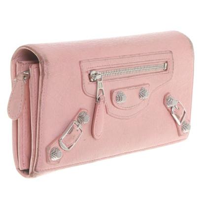 Balenciaga Portafoglio in rosa