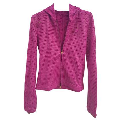 Gianni Versace Leren jas