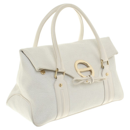 Borbonese Handbag in cream