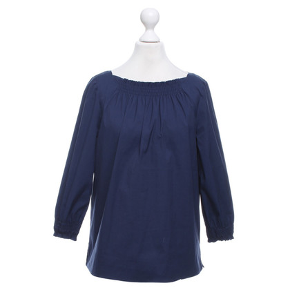 Prada top in dark blue