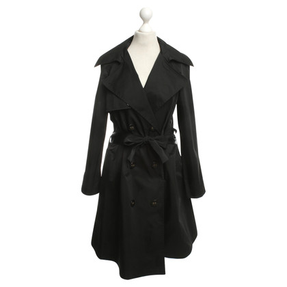 Lanvin Oversized Trenchcoat in Schwarz