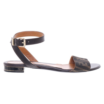 Fendi Sandals with logo pattern