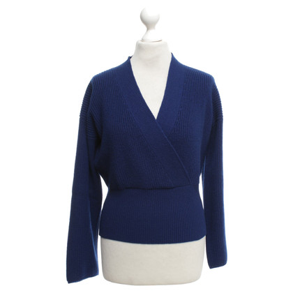 Other Designer Ballantyne cashmere sweater in royal blue