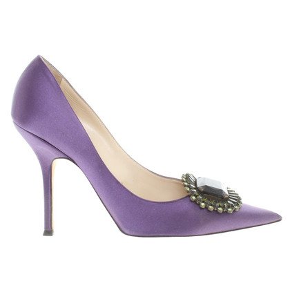 Jimmy Choo pumps made of satin
