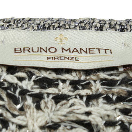 Bruno Bruno Muster Bunt Manetti Manetti mit Muster Strickjacke Strickjacke PpwTq1pE