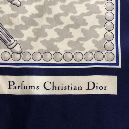 Christian Dior Zijden sjaal met patronen