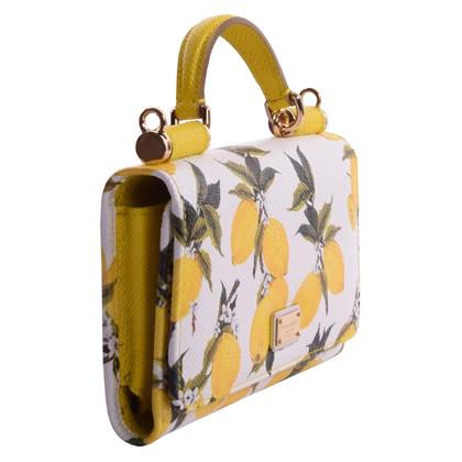 "Dolce & Gabbana ""Sicily iPhone Case"" with lemon print"