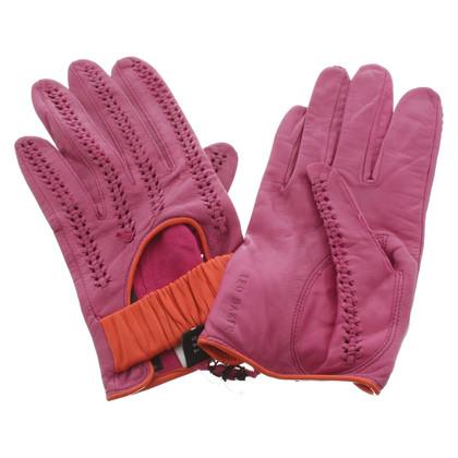 Ted Baker Handschoenen in tweekleurig