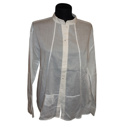 Schumacher Oversized blouse in white