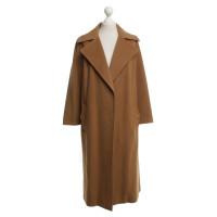 Hermès Ocher coat