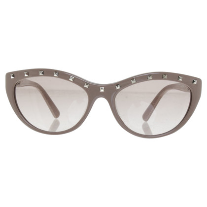 Valentino Sonnenbrille mit Nieten-Besatz