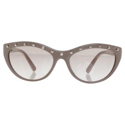 Valentino Sunglasses with studs trim