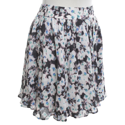Reiss skirt with pattern