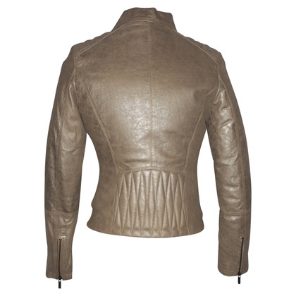 Arma leather jacket