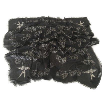 "Alexander McQueen Tuch ""Skulls and Swallows"""