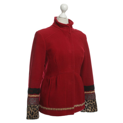 John Galliano Jacke in Rot