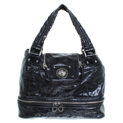 Marc Jacobs Patent leather handbag in black